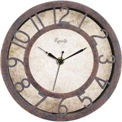 Picture of La Crosse Technology Equity Antique Finish Plastic Wall Clock