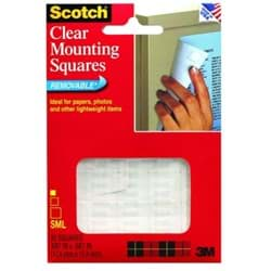 Picture of 3M Scotch Removable Mounting Squares