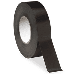"Picture of 1-1/2"" Scotch Colored Plastic Tape - Black"