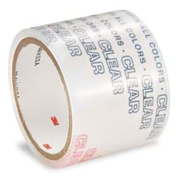 "Picture of 3/4"" Scotch Colored Plastic Tape - Clear"