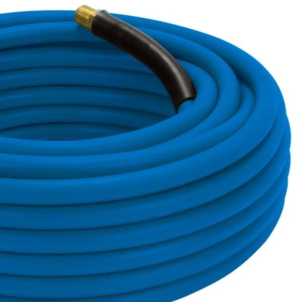 Picture of 3/8 In. x 25 Ft. XtremeFlex Premium Blue Rubber Air Hose
