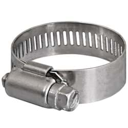 Picture of 3/4 In. to 1-1/2 In. Standard Worm Gear Clamp