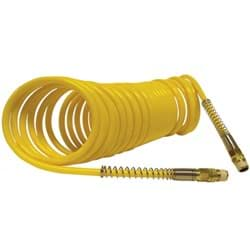 Picture of 3/8 In. x 25 Ft. Yellow Self-Storing Nylon Air Hose