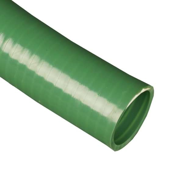 Picture of 2 In. Green PVC Suction Hose (Style G) — Bulk 100 ft