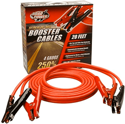 Picture of Booster Cable 4 Gauge 400 Amp - 20'