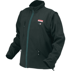 Picture of 18V LXT Lithium-Ion Cordless Heated Jacket, Jacket Only (Black, Small)