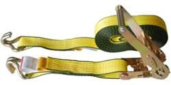 "Picture of Tie Down Ratchet w/ Strap 2"" x 27' – Hooks Wire"
