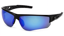 Picture of Safety Glasses Pyramex Atwater Lens Blue Frame Black Anti-Fog
