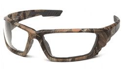 Picture of Safety Glasses Pyramex Brevard Lens Clear Frame Camouflage Anti-Fog