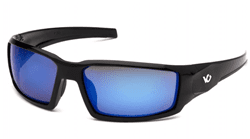 Picture of Safety Glasses Pyramex Pagosa Lens Blue Frame Black Anti-Fog