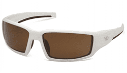 Picture of Safety Glasses Pyramex Pagosa Lens Bronze Frame White Anti-Fog