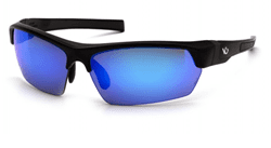 Picture of Safety Glasses Pyramex Tensaw Lens Blue Frame Black Anti-Fog