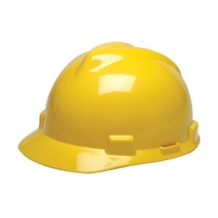 Picture of Hard Hat Cap w/ One-Touch Suspension – Yellow
