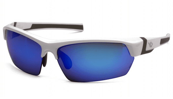 Picture of Safety Glasses Pyramex Tensaw Lens Blue Frame White Anti-Fog