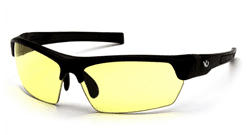 Picture of Safety Glasses Pyramex Tensaw Lens Yellow Frame Black Anti-Fog