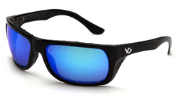 Picture of Safety Glasses Pyramex Vallejo Lens Blue Frame Black Anti-Fog