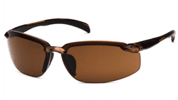 Picture of Safety Glasses Pyramex Waverton Lens Bronze Frame Brown