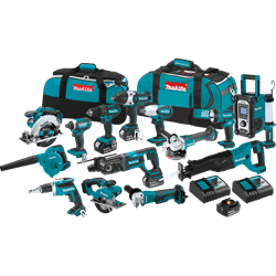 Picture of 18V LXT Lithium-Ion Cordless 15-Pc. Combo Kit (3.0Ah)