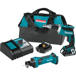 Picture of 18V LXT Lithium-Ion Compact Cordless 2-Pc. Combo Kit (2.0Ah)