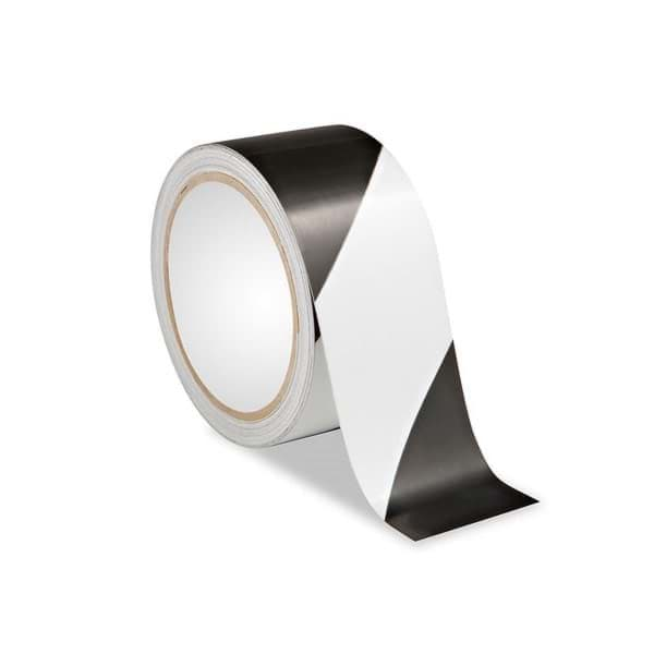 "Picture of Tape Safety 2"" x 36yds. – Black/White"
