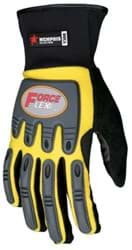 Picture of Glove MCR ForceFlex Top Yellow Palm Synthetic Leather Wrist Slip-On - L