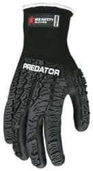 Picture of Glove MCR Predator Top Black Palm Nitrile Wrist Slip-On - XL