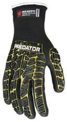 Picture of Glove MCR Predator Top Yellow Palm Nitrile Padded Wrist Slip-On - XL