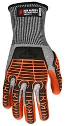 Picture of Glove MCR UltraTech Top Salt and Pepper Palm Nitrile Wrist Adjustable - XL
