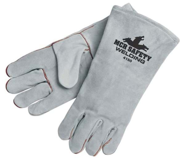 Picture of Glove Welding Leather Grey