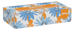 Picture of Kleenex Facial Tissue w/ Box Flat