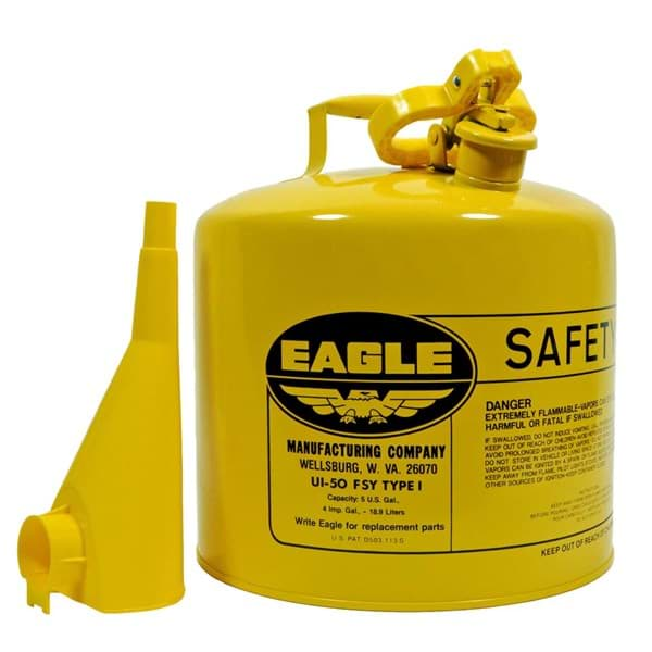 Picture of Safety Can Type I Diesel w/ Funnel Eagle – 5gal.