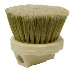 "Picture of 4-1/2"" Round Window Brush, Flagged Gold Polystyrene Fill"