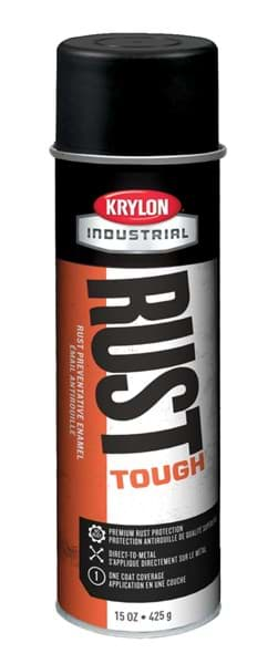Picture of Paint Aerosol Rust Tough Krylon – Black Flat