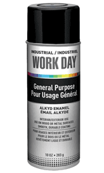 Picture of Paint Aerosol Workday – Black Gloss