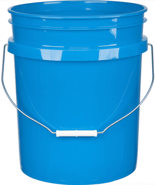 Picture of Bucket Plastic Gallon 5 - Blue