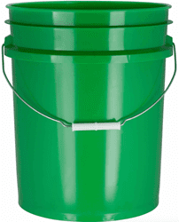 Picture of Bucket Plastic Gallon 5 - Green