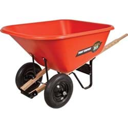 Picture of Wheelbarrow Poly w/ Tire Pneumatic – 10 cu. ft.