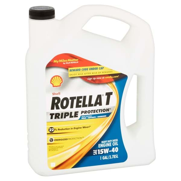 Picture of Oil Motor Rotella T Shell – 1gal.