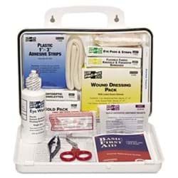 Picture of First Aid Kit w/ Eyewash Pac-Kit – 25person