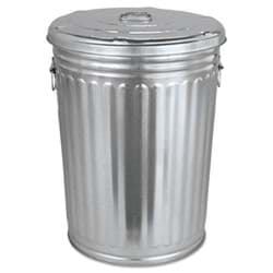 Picture of Trash Can Galvanized w/ Lid 30gal.