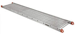 Picture of 20 ft Louisville P11420 Aluminum Plank, 250 lb Load Capacity
