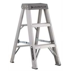 Picture of 3 ft Louisville AS1003 Aluminum Step Ladder, Type IA, 300 lb Load Capacity