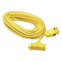 Picture of Extension Cord 3-Outlet 12/3 Gauge w/ GFCI – 25'