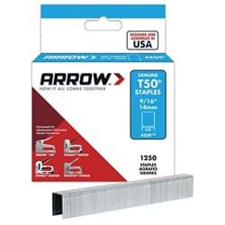 Picture of Staple T50 1250pack Arrow – 9/16""