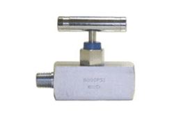 Picture of Valve Needle 10Kpsi w/ NPT 1/2""