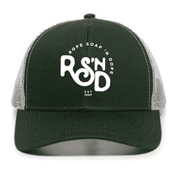 Picture of RSND Snapback Hat - Green/White