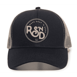 Picture of RSND Circle Snapback Hat - Navy/Khaki