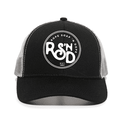 Picture of RSND Circle Snapback Hat - Black/White