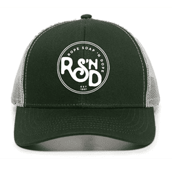 Picture of RSND Circle Snapback Hat - Green/White