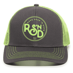Picture of RSND Circle Snapback Hat - Neon
